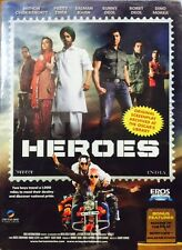 HEROES DVD - SALMAN KHAN, SOHAIL KHAN - BOLLYWOOD MOVIE DVD (REGION FREE) (SUBS)