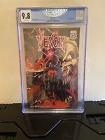 Venom #25 2nd Print Wraparound VIRUS Variant CGC 9.8 NM/MINT MARVEL 2020