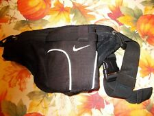 Nike Black Waist Pack Fanny Pack Has 2 Pouches And Bottle Holder