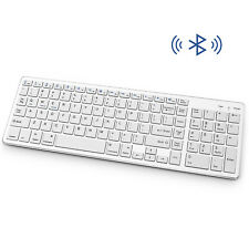 Wireless Bluetooth Keyboard Rechargeable Number Pad Fr Laptop PC Windows Mac OS