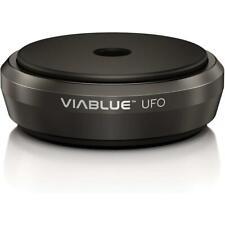 ViaBlue 50320 UFO XL Absorber schwarz 65mm f. HiFi Geräte 4 Stück = 300kg je Set