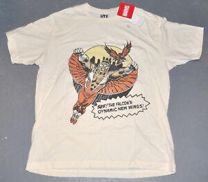 """NWT UNIQLO® Mens MARVEL """"FALCON"""" Comic Book #171 T-Shirt Tee Shirt [M-L-XL]"""