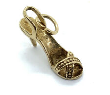 Fine 9ct Gold High Heel Charm #133