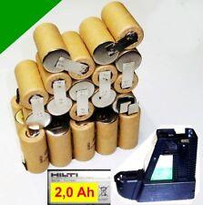 tauschpack para ORIGINAL Hilti Pila 36V BP10 2,0 Ah NiCd 2000mAh