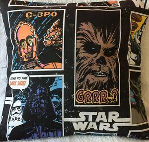 Star Wars Cushion Cover/ Pillow Case 16 x 16 inch