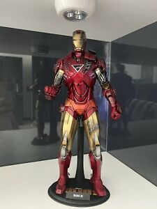 Hot Toys MMS132 Iron Man 2 Mark VI 1:6 scale toy figure