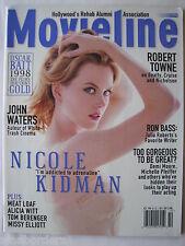 NICOLE KIDMAN, ROBERT TOWNE, JOHN WATERS, RON BASS, Oct 1998 Movieline mag, GD.