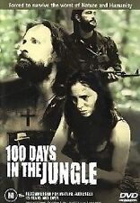 100 DAYS IN THE JUNGLE DVD=REGION 4 AUSTRALIAN RELEASE=NEW AND SEALED