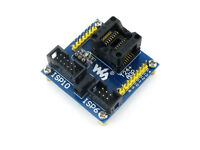 ATtiny24A-SSU ATtiny24 ATtiny44 ATtiny84 AVR SOIC14 150 mil Programming Adapter