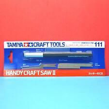 Tamiya #74111 Handy Craft Saw II w/ 2 Blades (0.35mm thickness)