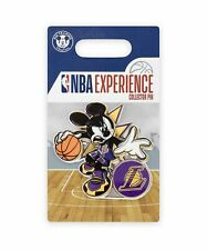 Disney Parks Pin NBA Experience Mickey Mouse Los Angeles Lakers LE 2020