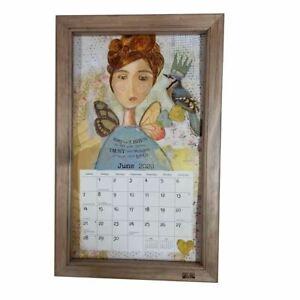 Ash Stained LANG & LEGACY Calendar Frame - Australian Made