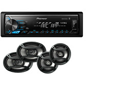 Pioneer Car Stereo Digital Media Receiver Bluetooth USB Aux+6.5