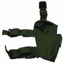 OD Green Tactical Right Handed Elite Leg Gun Holster BB Airsoft Pistol 204GR