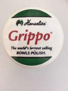 Henselite Grippo - Bowls Polish. 40ml Tub With Screw Off Lid.