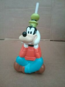 "Goofy Rare Disney Beverage Bottle BY DISNEY 10"" TALL"
