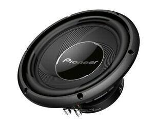 Pioneer 10-inch Component Car Subwoofer 1200 Watts Max Power - TS-A25S4 - Pair