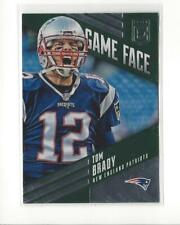 2016 Elite Game Face Green #GFTB Tom Brady Patriots