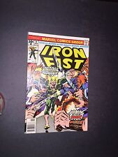 Iron Fist 9 Raw 9.4 Bronze Age Key Marvel Comic I.G.K.C. L@@K