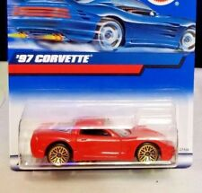 Hot Wheels #188 '97 Covette 2000 Red Gold Wheels