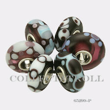Authentic Trollbeads Sterling Silver  Malawi Kit - 6 Beads 65299 *P*