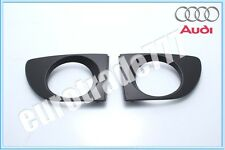 AUDI A4 B5 99-01  Front bumper FOG Grille PAIR US Model NEW OEM