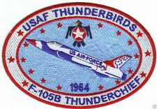 USAF THUNDERBIRDS PATCH, F-105B THUNDERCHIEF, VERSION 2                        Y