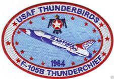 USAF THUNDERBIRDS PATCH, F-105B THUNDERCHIEF, VERSION 2                        Y