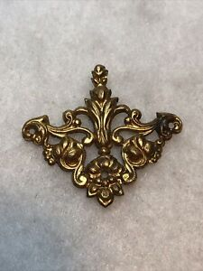 Antique Decorative Corner For Jewellery Box Art Nouveau 1900s Jewelry Retro Old
