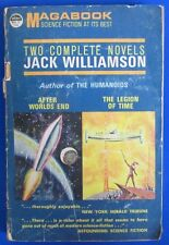 1963 AFTER WORLDS END/LEGION OF TIME by Jack Williamson 1st Galaxy Paperback VG-