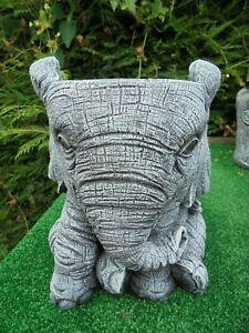 Elephant planter garden ornament