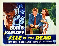 ISLE OF THE DEAD 1946 Boris Karloff Ellen Drew Val Lewton LOBBY SET