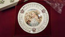 "Royal Doulton Collector Plate ""O Little Town Of Bethlehem"" With Original Box"