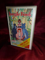 1990 OOP THE JUNGLE BOOK VHS 45 mins NOT DISNEY + Wind In The Willow FREE UK P&P