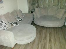 Fabric More than 4 Seats Contemporary Double Sofas