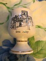 Vintage Prinknash Pottery Iona Abbey Goblet