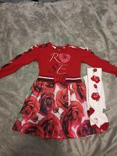Adee Girls Dress & Coat (Winter) Age 6