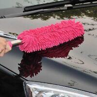 Car Wash Brush Microfibre Noodle Chenille Long Flexible Alloy Wheel Clean.yullu