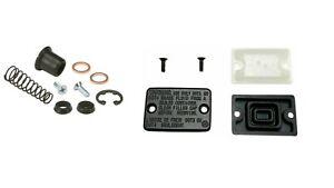 Front Master Cylinder Cap Cover & Rebuild Kit For 85-86 Honda ATC350X ATC 350X