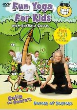 Barbara Currie's Fun Yoga For Kids DVD Exercise Fitness UK Release New Sealed R2