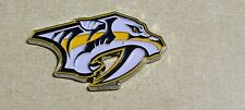 NHL Nashville Predators Color Diecast Poker Card Guard Protector Golf Marker 3""