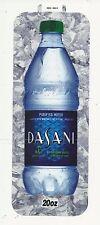 Coca-Cola Machine Long Dasani Water Label Insert