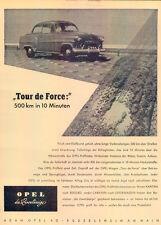Opel-Rekord-II-1954-Reklame-Werbung-genuine Advert-La publicité-nl-Versandhandel