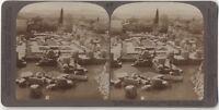 Ruines di Tegea Tegea Grecia Grecia Fotografia Vintage Stereo Stereoview