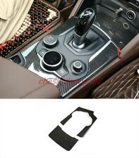 Real Carbon Fiber Central control decorative panel For Alfa Romeo Stelvio 17-19