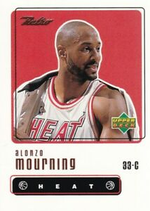1999-00 Upper Deck Retro - Alonzo Mourning #41 - Miami Heat