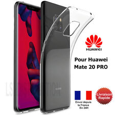 COQUE ETUI HUAWEI MATE 20 PRO GEL SILICONE TRANSPARENTE HOUSE MATE20 PRO