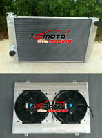 5 ROW Alu RADIATOR+Shroud+fan For Ford Falcon V8 6cyl XC XD XE XF ZH/ZJ/ZK/ZL AT