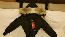 NEW RED LABEL EDITION BLACK CANADA GOOSE HOLOGRAM CHILLIWACK SMALL PARKA JACKET
