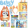 BLUEY - BINGO FULL SIZE BACKPACK, TOTE BAG, 48 STICKERS, CARD GAME, 10 MARKERS +